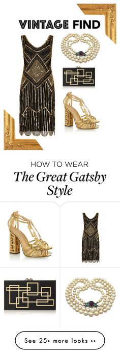 """Vintage Find: Pearl Necklace"" by classicalsparrow on Polyvore"