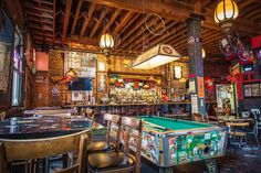 The Tempest Bar & Box Kitchen – Thrillist San Francisco - Bar Ideen Bar Interior, Restaurant Interior Design, San Francisco Bars, Country Bar, Game Room Bar, San Francisco Restaurants, Diving Board, Pool Accessories, Dive Bar
