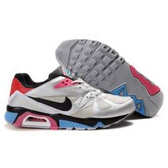 New Arrival Nike Air Max 91 Men Gray Black Pink Blue Shoes $65