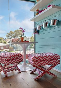 turquoise + red = awesome | House of Turquoise: Vanessa De Vargas