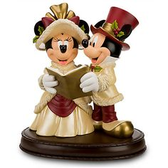Minnie and Mickey Mouse Figurine | Figurines & Keepsakes | Disney Store | $215.00