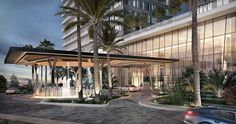 Discover recipes, home ideas, style inspiration and other ideas to try. Porte Cochere, Mix Use Building, Building Concept, Canopy Architecture, Concept Architecture, Motor Stirling, Atrium Hotel, Underwater Restaurant, Hotel Canopy