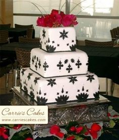 black and white wedding cakes gallery throughout black and white wedding cakes