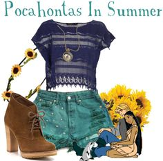 Pocahontas in Summer