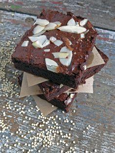 Quinoa Flour Brownies plus 29 more gluten-free quinoa dessert recipes