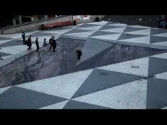 Mind Your Step - 3D Street Art at Sergels Square in the heart of Stockholm by Erik Johansson.