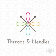 tailor logo, sewing logo, threads logo, needles logo, stocklogos, stitching logo, fashion logo,