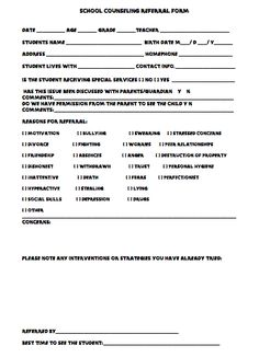 Group Counseling Invitations: Kick off school counseling groups ...
