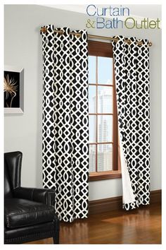 Beat the heat and save energy this Summer simply by choosing effective window treatments! Our contemporary styles instantly serve as a focal point in any room. Explore our entire collection of quality curtains and more, at prices up to 20-50% off the department store at www.CurtainandBathOutlet.com #CurtainAndBathOutlet