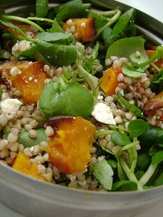 Butternut Squash , Buckwheat , Watercress , Walnut and Goats Cheese Salad by Girl Interrupted Eating, via Flickr