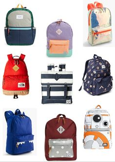 Jeeke Kids Backpack Kawaii Cartoon Monkey School Bag for Boys Girls