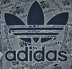c8b3174531 Adidas Credit Card Trefoil Tee hombres algodón camisa original camiseta  Azul Weiches Textil Webband innen am