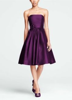 Short Bridesmaid Dresses by David's Bridal