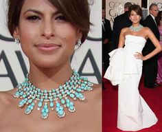 Love this necklace, love the idea of wearing turquoise on my wedding day...