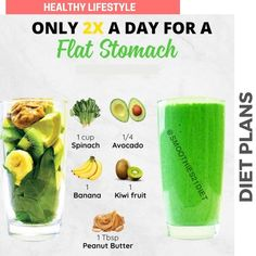 Easy Smoothie Recipes, Healthy Diet Recipes, Healthy Juices, Healthy Meals For Kids, Healthy Smoothies, Healthy Drinks, Healthy Food, Fruit Diet, Best Diet Plan