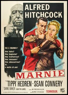 Marnie.  Sean Connery in Hitchcock's film.  Couldn't get any better than that!