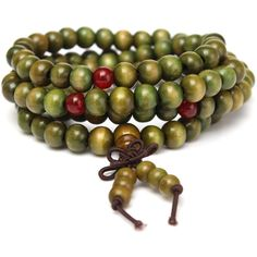 Multilayer sandalwood beaded bracelet (21 BRL) ❤ liked on Polyvore featuring jewelry, bracelets, white, wooden beads jewellery, beads jewellery, beaded jewelry, chain jewelry and wood bead jewelry
