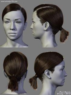 2012 Hairstyles 02, Dani Garcia on ArtStation at https://www.artstation.com/artwork/2012-hairstyles-02