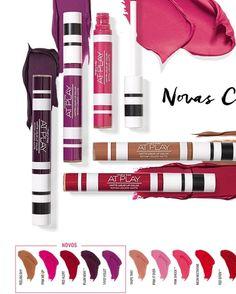 Nossa linha Mary Kay At Play® continua lançando novidades em cores trendy para você! Agora, para completar essa família que já é TOP, apresentamos mais cinco novas tonalidades do batom queridinho e três novas cores do Trio de Sombras para ajudar vocês a multiplicarem seus looks. - Cores trendy - Acabamento matte - Cobertura intensa - Desliza facilmente nos lábios  #makeup #instamakeup #cosmetic #cosmetics  #fashion #eyeshadow #lipstick #gloss #mascara #palettes #eyeliner #lip #lips #tar…
