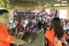 Baggao Lions Club (Philippines) | Lions organized a Nutrition Lecture followed by feeding and distribution of 1 apple each to 400 schoolchildren