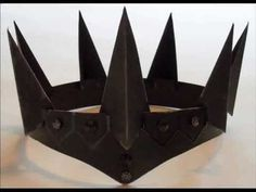 How to make an Evil Queen Crown - YouTube