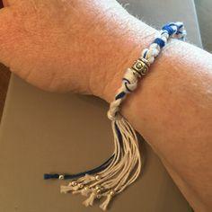 Tzitzit ladies bracelet, so graciously given to me! ❤️it!!!