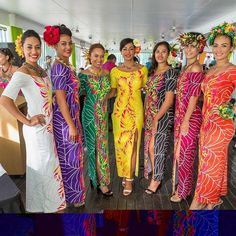 "239 Likes, 3 Comments - South Pacific Islanders (@southpacificnesian) on Instagram: ""Stunning collections of @inangarodesign worn by our beautiful @misscookislands contestants …"""