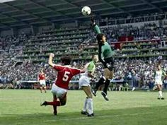 Austria 2 Algeria 0 in 1982 in Oviedo. This Austrian cross was to high for everyone in Group 2 at the World Cup Finals.