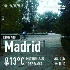 Listos para nuestro circuito de #fuerza en el #Retiro! Vamoooos!  #atope #Madrid #ParquedelRetiro #entrenamiento #workout #entrenar #training #Despierta #Entrena #DespiertayEntrena