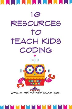 10 Cool Resources to Teach Kids Coding Homeschool Coding Coding Games for Kids Coding Resources for Kids Kids Learn to Code Coding for Homeschool How to Code Learn how to code Learn how to code for children Coding For Kids, Start Coding, Coding Websites For Kids, Technology Lessons, Teaching Technology, Kindergarten Lessons, Learn To Code, Homeschool Curriculum, Homeschool Diploma