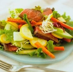 Super-Crunchy Supper Salad http://www.mysaladrecipe.com/super-crunchy-supper-salad/