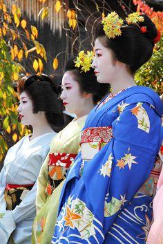 Photoed at Kanikakuni Festival, Gion town, Kyoto, Nov 8, 2012.