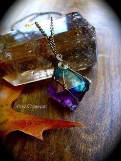 I so love how pretty or Gemmy this Flourite is.