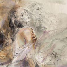 Auburn Melody | Painting by Anna Razumovskaya