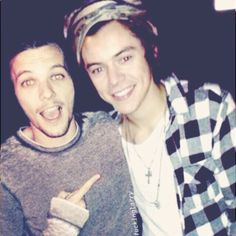 Louis and Harry <3