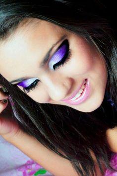 Maquiagem degradê! Perfeita!