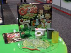 The 20-plus experiments in Smart Lab Toys Thats Gross Science Lab set ($24.99, ages 8+) range from making smelly bubbles to fake boogers. #sciencetoys #toyfair