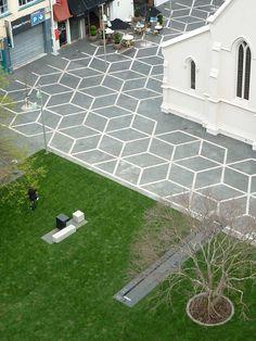 urban-fountain-on-church-square-landscape-architecture-09 « Landscape Architecture Works | Landezine