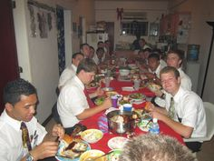 Christmas Dinner on Chuuk with Elder and Sister Tiffany and Chuuk Zone