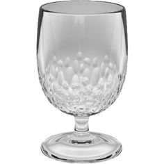 Superbe Crafted From Acrylic For Shatterproof Appeal, This Textured Goblet Is  Perfect For The Poolside Bar Or Patio Table.
