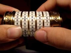 make a cryptex
