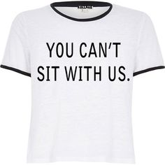 Mean girls you cant sit with us shirt on shop kollage.