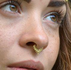 Geometric Septum Ring Gold Septum Jewelry Septum Piercing Clothing
