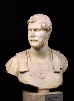 Roman - Bust of Emperor Hadrian (76-138) found in Crete