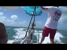 "Parasailing & the ""Ultimate Adventure"" with Fury, Key West, Florida - video with Frampton sound (played on the boat cruise.)  Heavenly fun!  Loved it! #parasail #parasailing #keywest"