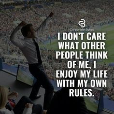 Learning to let go of what people think is so freeing. Boss Quotes, Joker Quotes, Attitude Quotes, True Quotes, Motivational Quotes, Inspirational Quotes, Corporate Quotes, Business Quotes, Millionaire Lifestyle