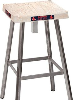 Make a stool out of wood - add home plate as the seat