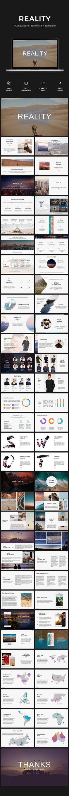 Reality Presentation - #PowerPoint Templates Presentation Templates