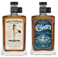 Orphan Barrel Whiskey Distilling Company's First Releases will be Bourbons