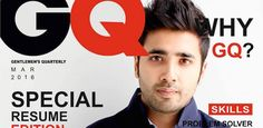 GQ-style CV Gets Sumukh Mehta a Job Offer